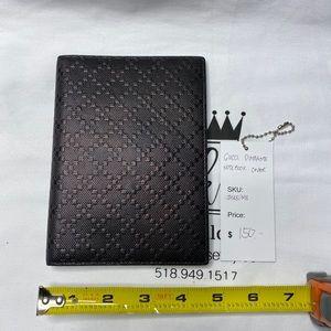 Gucci diamanté notebook cover